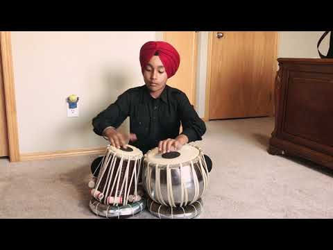 Chandi lishka mardi tabla cover