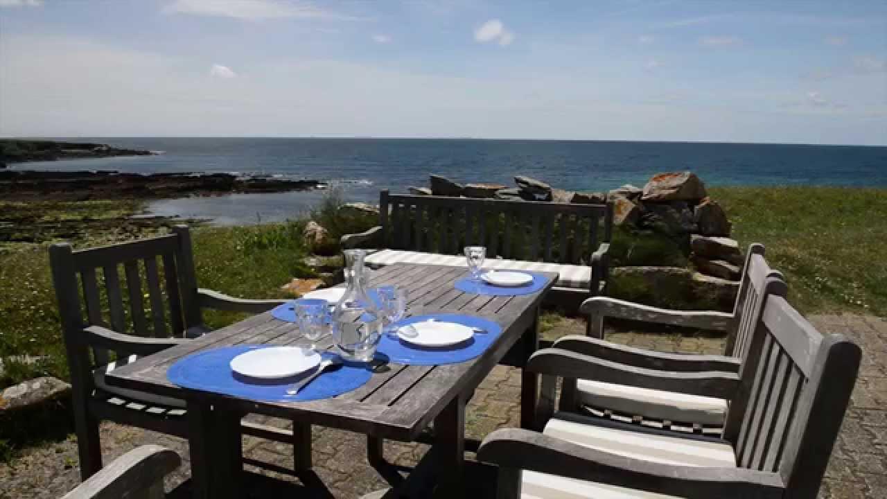 Location maison vacances vue mer bretagne nevez youtube for A louer maison vacances