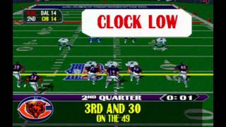 NFL Blitz (PS1) Gameplay