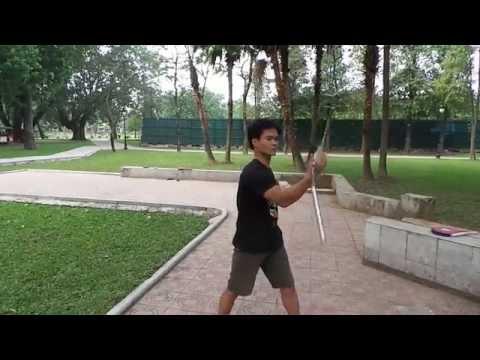 Côn Nhị Khúc cơ bản | www.bmdshop.vn | 0973999717 | Loan côn nhị khúc số 8 ngược