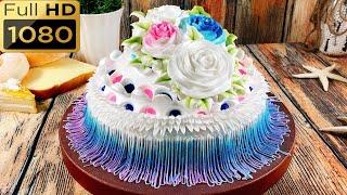 cake decorate creation beautiful-art-October - bánh kem hình tròn đẹp và đơn giản (523)