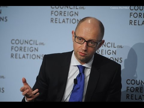 Ukrainian Prime Minister Arseniy Yatsenyuk on Ukraine's Challenges