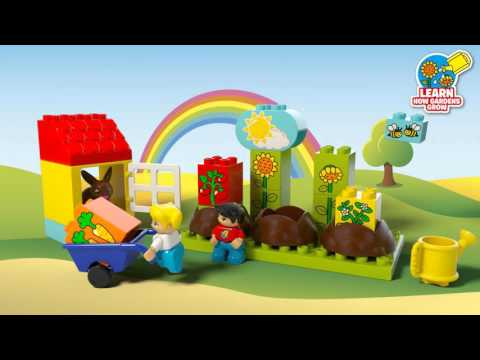 My First Garden - LEGO DUPLO - 10819 - Product Animation