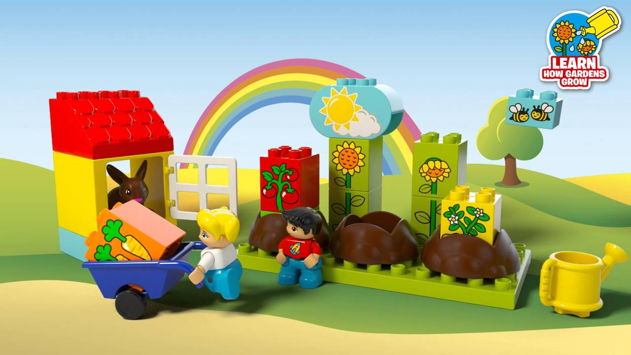 My First Garden   LEGO DUPLO   10819   Product Animation   YouTube