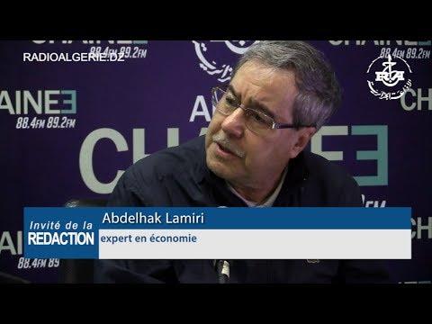 Abdelhak Lamiri expert en économie