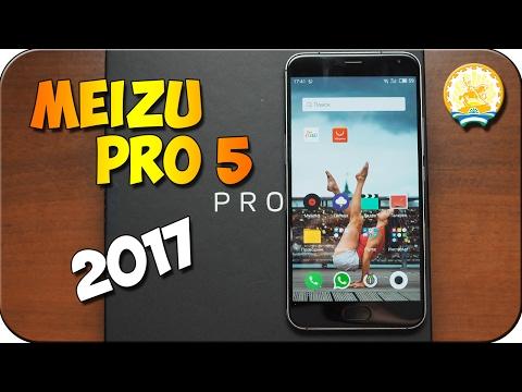 Meizu Pro 5 2017 - распаковка и первые впечатления