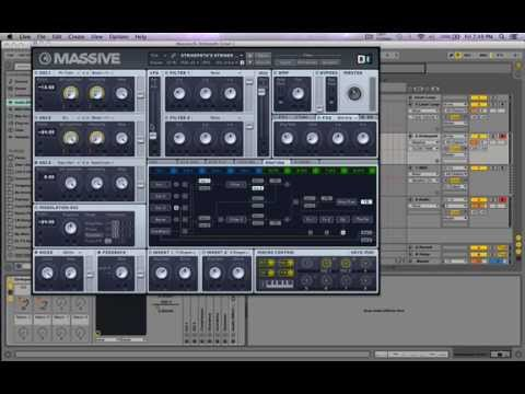 Skrillex/Zomboy Massive Growl Bass Tutorial [Free Preset]