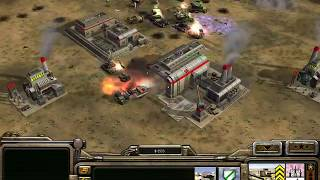 C&C Generals - 1 vs 7 Brutal Armies  on Twilight Flame (GLA)
