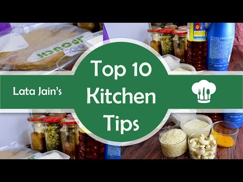 Top 10 Kitchen Tips - Easy and Useful Tips to Help while Cooking by Lata's Kichen