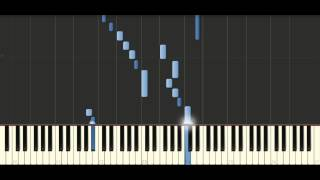Bach - Invention BWV 780 - Piano Tutorial - Synthesia