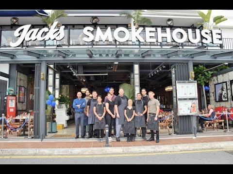 Almuerzo de prensa en jacks smokehouse puerto banus youtube - Jacks smokehouse puerto banus ...