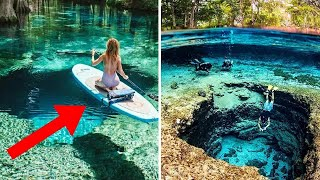 AMAZING Places With Crystal Clear Water!
