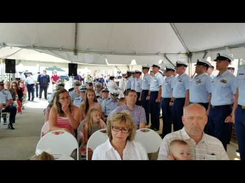 Lt. Commander Dan Tavernier,  Change of Command