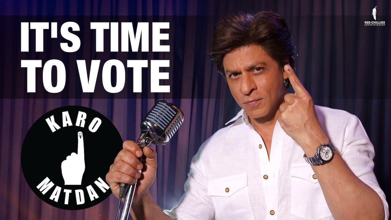 Karo Matdan | It's Time To Vote | Shah Rukh Khan