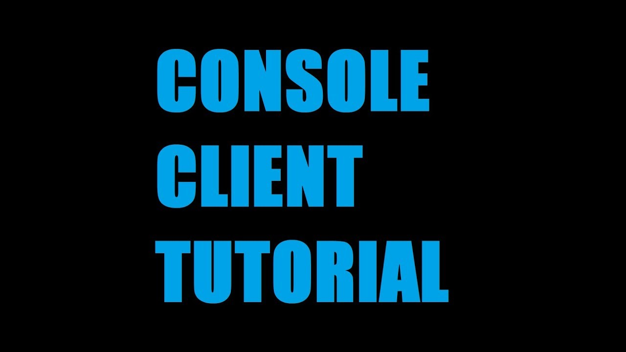 How To Download Install & Use Console Client For Minecraft Servers