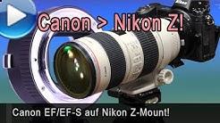 Canon-Objektive an Nikon Z - genialer Fringer-Automatikadapter!