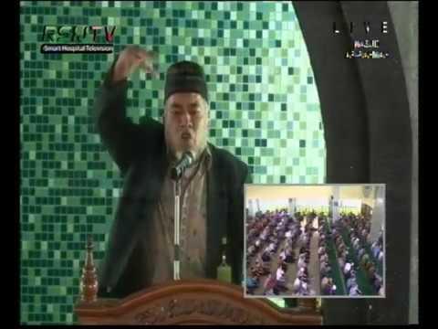 Drs. M. Udrus Ulil Maloko-Khotib dan Imam Shalat Jum'at 24 Februari 2017