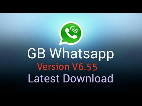 GB Whatsapp Latest Version Free Download (V 6 55)