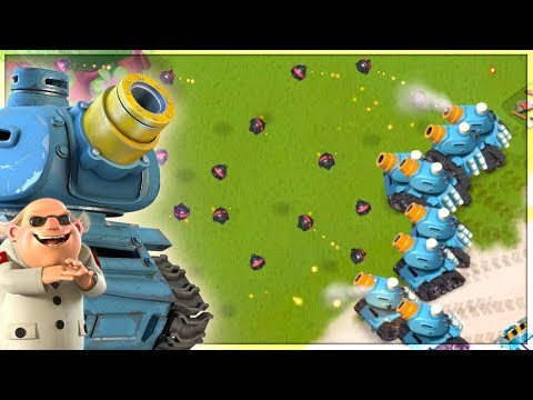 Boom Beach NEW RAIN MAKER vs Dr T! Insane Prototroop Update!
