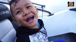 Wow.. Serunya Naik Kapal Boat Keliling Danau Beratan Bedugul Bali | Indahnya Alam Pulau Bali