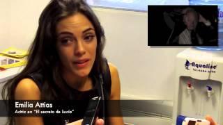 """VideoEntrevista: Emilia Attias por """"El secreto de Lucía"""""""