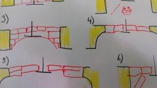 Как сделать портал для печи, чтоб врезать печь в стену ? Разные схемы и разбор примеров монтажей.