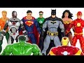 Tubidy Hulk and Iron Man are hurt! Go! Justice League! Batman, Superman, Wonder Woman! - DuDuPopTOY
