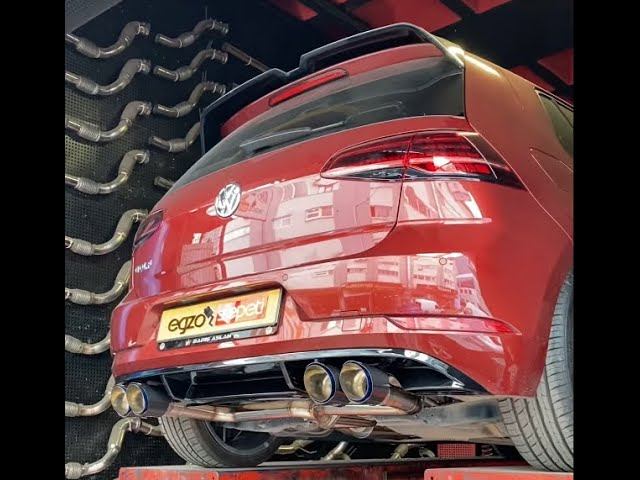 VW GOLF 7.5 1.5 KUMANDALI EGZOZ SESİ