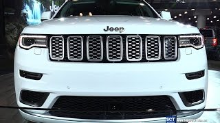 2017 Jeep Grand Cherokee Summit -Exterior and Interior Walkaround - Debut at 2016 New York Auto Show