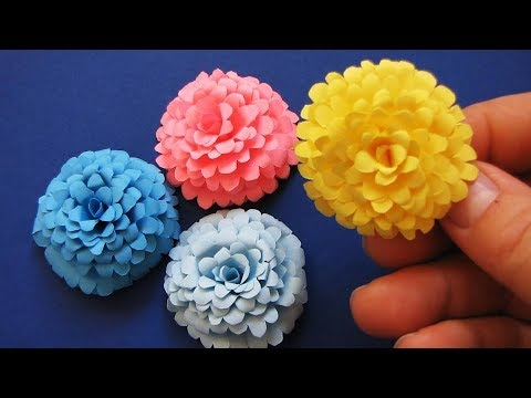 How To Make Small Paper Rose Flower - DIY Handmade Craft - Paper Craft 5