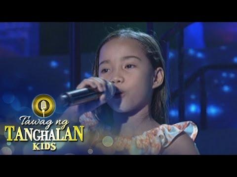 Tawag ng Tanghalan Kids: Queenie Torremocha | Dito Ba