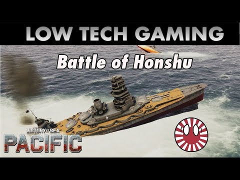 Battle of Honshu - Victory at Sea Pacific |