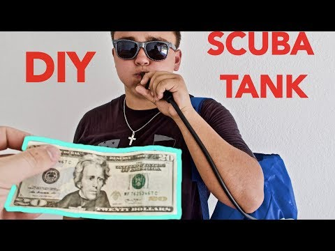 How To Make A DIY Scuba Tank For Under $20 At Walmart!!