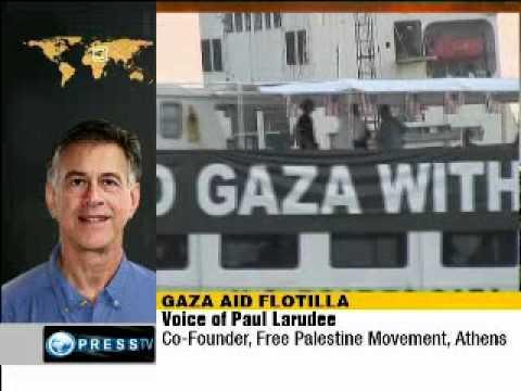 Gaza Flotilla Activist:  'Greece is under Israel's occupation'
