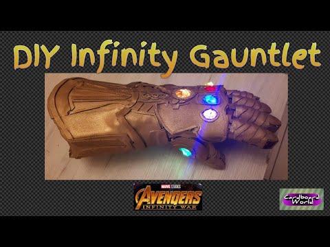 Best Diy Infinity Gauntlet From Infinity War Youtube