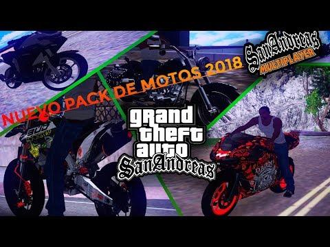 NUEVO PACK DE MOTOS HD PARA GTA SAN ANDREAS 2018