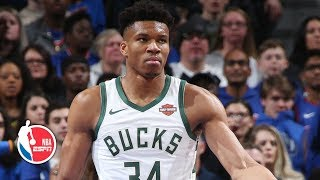 Giannis Antetokounmpo, Bucks rout the Pistons in Game 3, on verge of a sweep | NBA Highlights