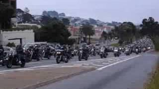 Funeral for Hells Angels leader Mark