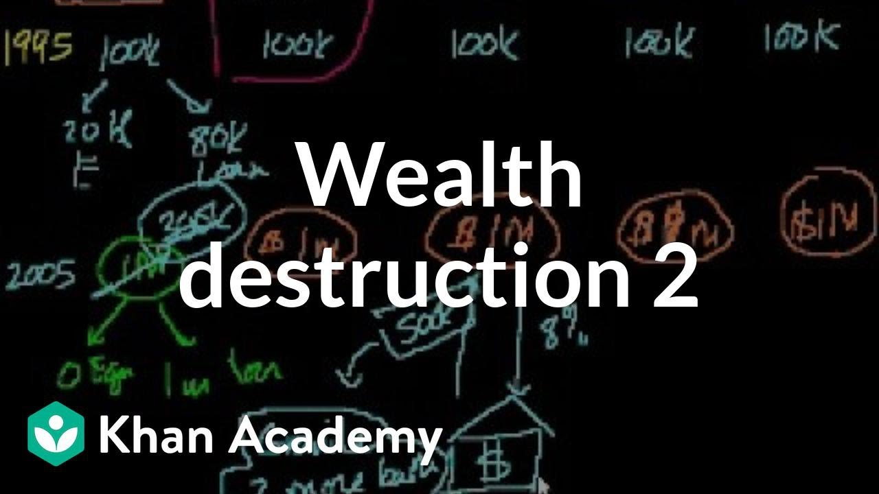 Wealttruh desction 2 | Finance & Capital Markets | Khan Academy