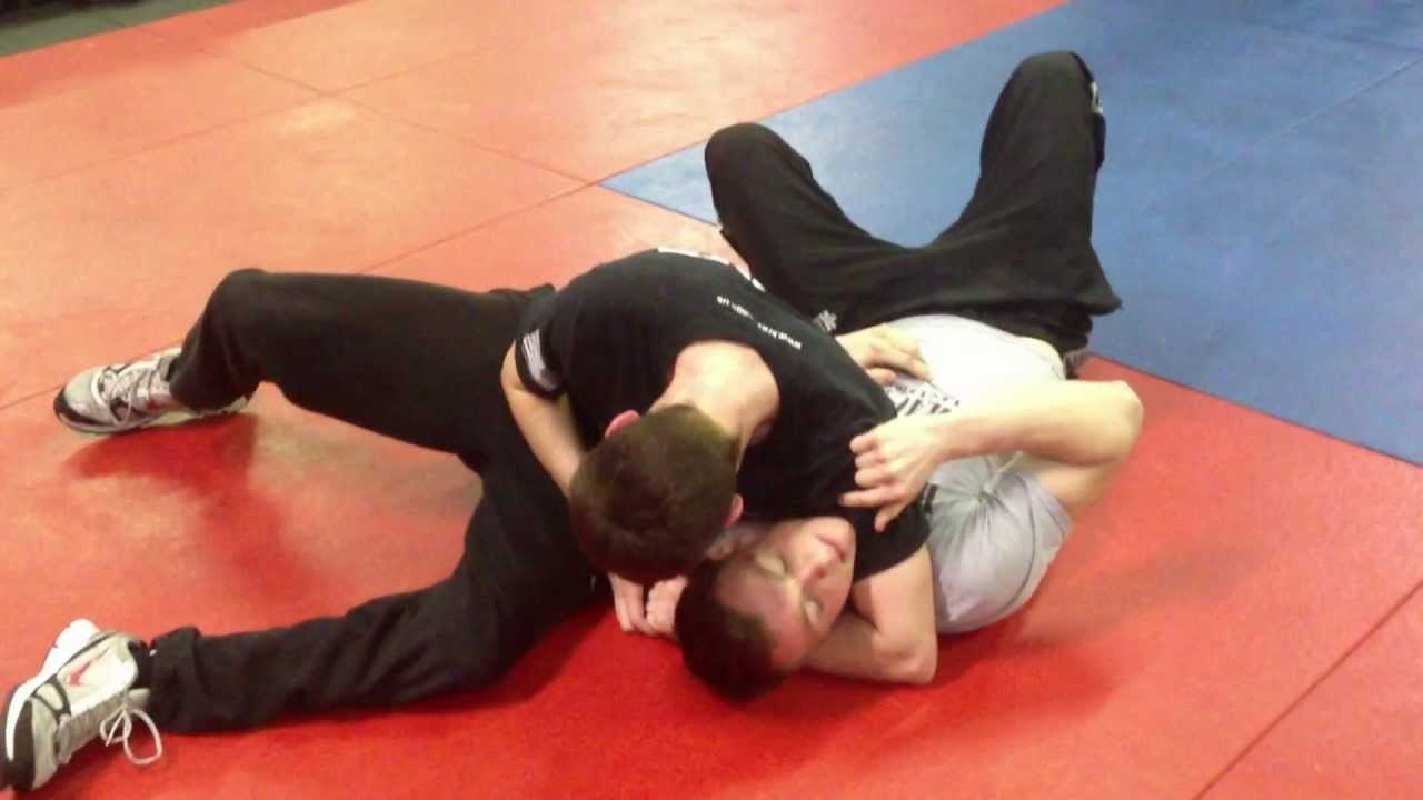 how to get out of a headlock