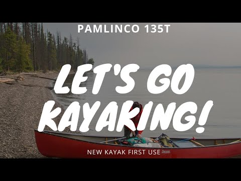 Taking The Pamlico 135t Kayak Out For Its First Run Youtube