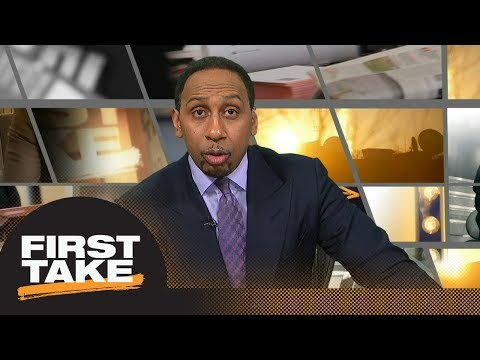 Stephen A. Smith is 'very, very concerned' bad luck is following the Warriors | First Take | ESPN