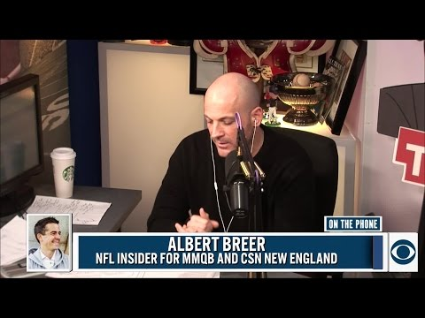NFL Insider for the MMQB.com and CSN NEW England Albert Breer joins BT and Tiki.