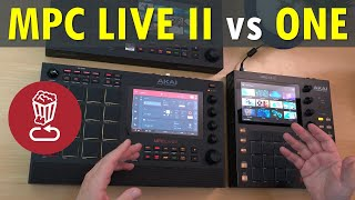 "Did Akai fix the ""cons""? MPC LIVE II vs MPC ONE // Speaker test, review and 2.8 tutorial"