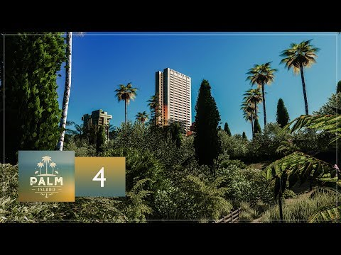 Cities Skylines: Palm Island — EP4 — Beach Resort & Retail Area