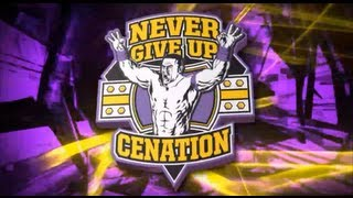 WWE - John Cena Theme Song + Titantron 2013 (Purple Version)