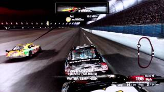 Great Finishes on NASCAR 09