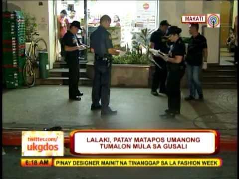 Man Falls Off Makati 'condotel'