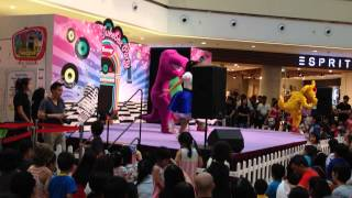 Barney and Friends Live Show at City Square Mall in Singapore! (Part 3)