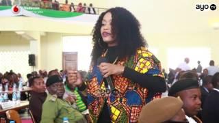 Ray C alivyoimba mbele ya Waziri mkuu Majaliwa Dodoma leo